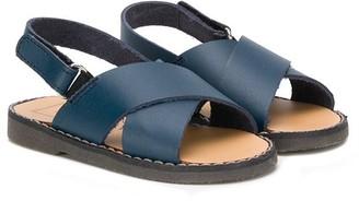 Babywalker Flat Double-Strap Sandals