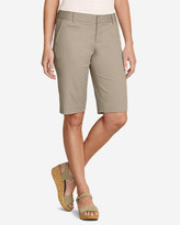 Eddie Bauer Women's Slightly Curvy Perfect Twill Bermuda Shorts - 11""