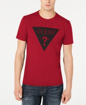 GUESS Men's Packed Logo Graphic T-Shirt