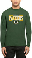 '47 Men's Green Bay Packers Double Option Splitter Long-Sleeve T-Shirt