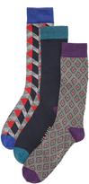 Ted Baker Archway 3 Pack Socks