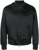 Neil Barrett lightning bolt bomber jacket - men - Cotton/Polyamide/Polyester/Viscose - M