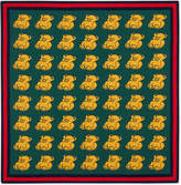 Gucci Knitted bears baby blanket