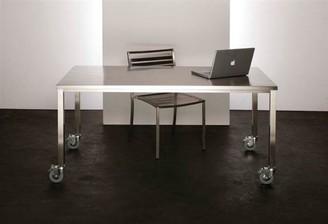 R & V Living Stainless Steel Dining Table
