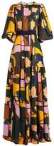 Roksanda Aubert floral-print silk-georgette dress
