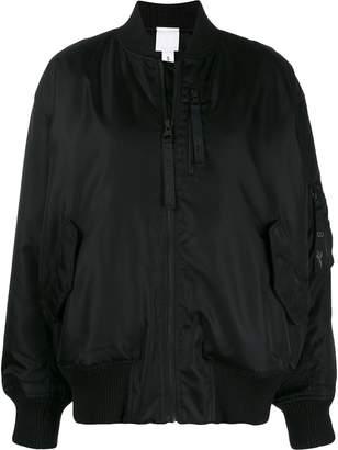 Reebok x Victoria Beckham oversized bomber jacket