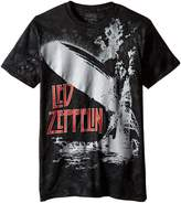 Liquid Blue Men's Led Exploding Zeppelin T-Shirt, Multi