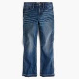 J.Crew Tall Billie demi-boot crop jean in Collinson wash