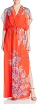 Ella Moss Floral-Printed Silk Maxi Dress