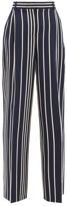 Max Mara Pina Trousers - Navy Multi
