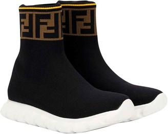 Fendi Black Sock Sneakers