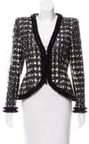 Alexander McQueen Houndstooth Structured Jacket
