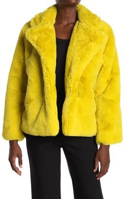 Diane von Furstenberg Paulette Faux Fur Jacket