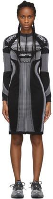 Misbhv Black and White Active Future Short Dress