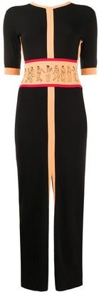 Kirin Long Backless Knit Dress