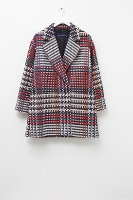 French Connection Long Sleeve Oversized Coat