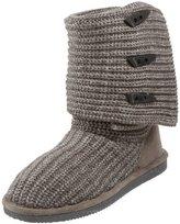 BearPaw Women's Knit Tall Fur Trimmed Boot