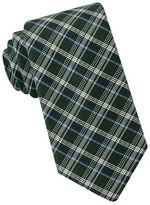 Black Brown 1826 Narrow Plaid Silk Tie