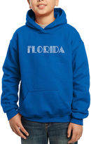 LOS ANGELES POP ART Los Angeles Pop Art The Names Of Popular Cities In Florida Hoodie-Big Kid Boys