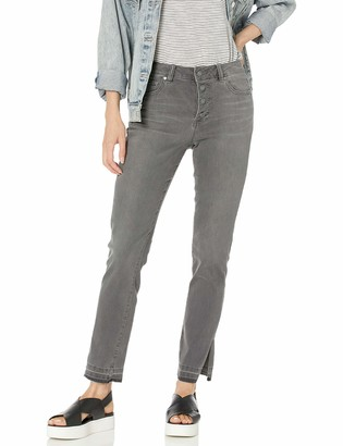 Vince Camuto Women's High Rise Button Fly Jean
