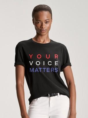 MICHAEL Michael Kors Vote Cotton T-Shirt