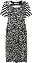 R 13 2 in 1 layered dress - women - Silk/Cotton - 42
