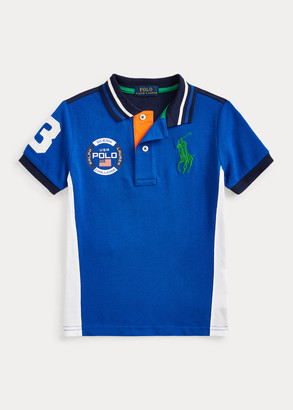 Ralph Lauren Big Pony Cotton Mesh Polo