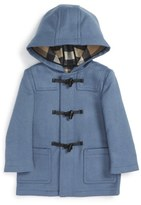 Burberry Toddler Boy's 'Brogan' Hooded Wool Toggle Coat