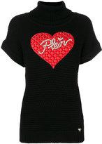 Philipp Plein Win knitted top - women - Polyester/Viscose/Wool - M