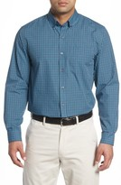 Cutter & Buck Men's Big & Tall Barrett Check Easy Care Sport Shirt