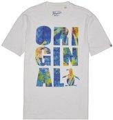 "Original Penguin ""Original"" Neon Palm Fill Tee"