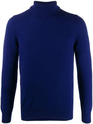D'aniello La Fileria For turtleneck slim-fit jumper