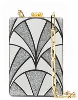 Edie Parker 'Carol' box clutch - women - Acrylic - One Size