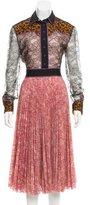 Gucci Resort 2016 Lace Dress