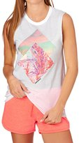 Converse Overlapped Photo Fill Muscle Tank Top