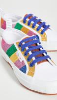 Mira Mikati x Glitter Stripe Sneakers