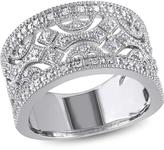 Julie Leah 1/4 CT TW Diamond Sterling Silver Fashion Ring