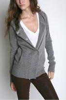 Coincidence & Chance Velvet Trim Sweater Coat