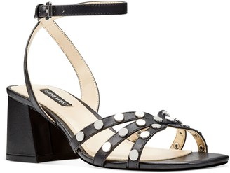 Nine West Studden Block Heel Sandals - Gale