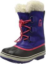 Sorel Youths Yoot Pac Purple Textile Boots 7 US