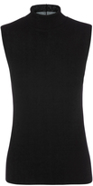 Oxford Sara Turtle Neck Knit Blk X