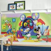 York Wall Coverings York Wallcoverings Disney's Mickey Mouse & Friends Clubhouse Capers Removable Wallpaper Mural