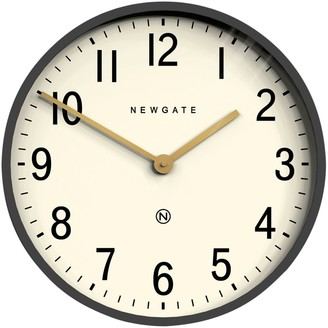 Newgate Clocks Mr Edwards Wall Clock, Dia.45cm, Moonstone Grey