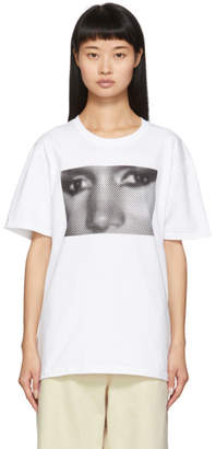 Noah NYC White Grace T-Shirt