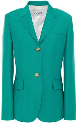 Lanvin Mohair And Wool-blend Blazer