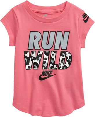 Nike Kids' Run Wild Graphic Tee