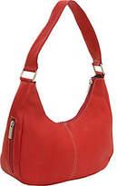 Le Donne Leather Side Zip Shoulder Bag