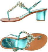 Vdp Collection Toe strap sandals