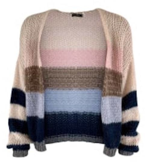 Thumbnail for your product : Margaux Neoplolitan Striped Cardigan