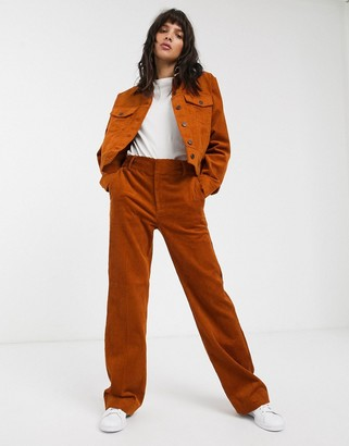 InWear Jazlyn cord bootcut pants co-ord